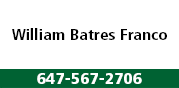 Guillermo Ernesto Batres (William) Franco logo